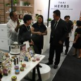 Elyrest No1 Aroma and herb with Department of International Trade Promotion.