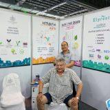Elyrest with customer Style Fair