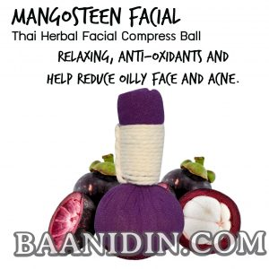ELYREST Facial Mangosteen Facial Herbal compress ball 60 g.