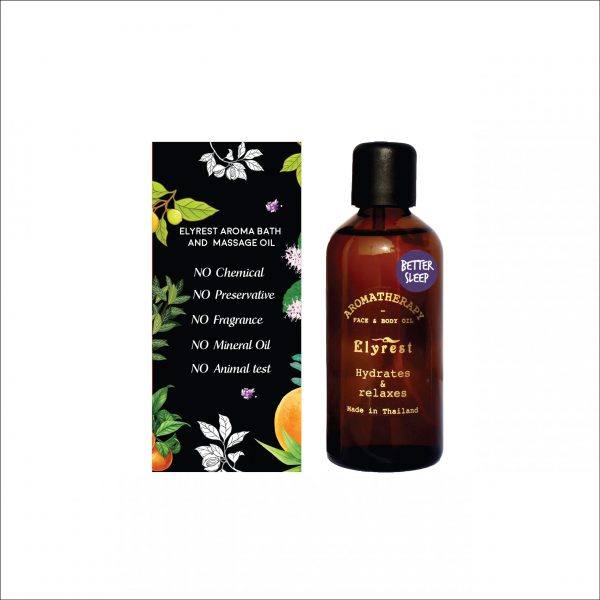 Elyrest Aroma Bath & Massage Oil better sleep3-01