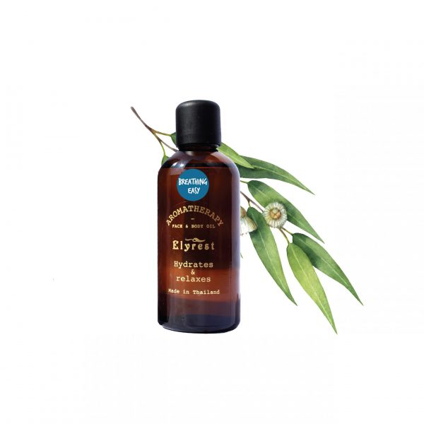 Elyrest Aroma Bath & Massage Oil breathing easy pic-01