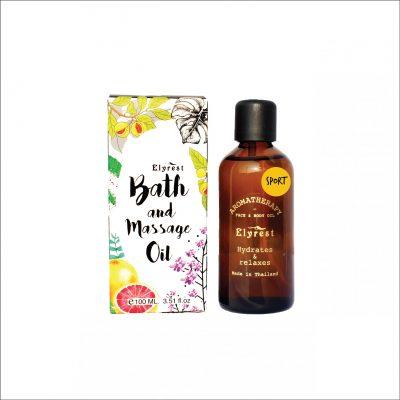 Elyrest Aroma Bath & Massage Oil sport