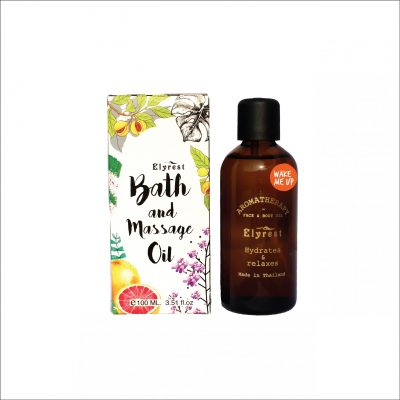 Elyrest Aroma Bath & Massage Oil wake me up