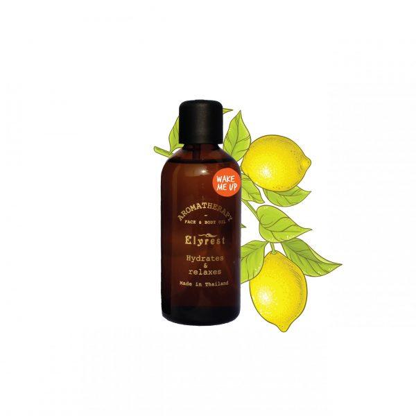 Elyrest Aroma Bath & Massage Oil wake me up pic-01