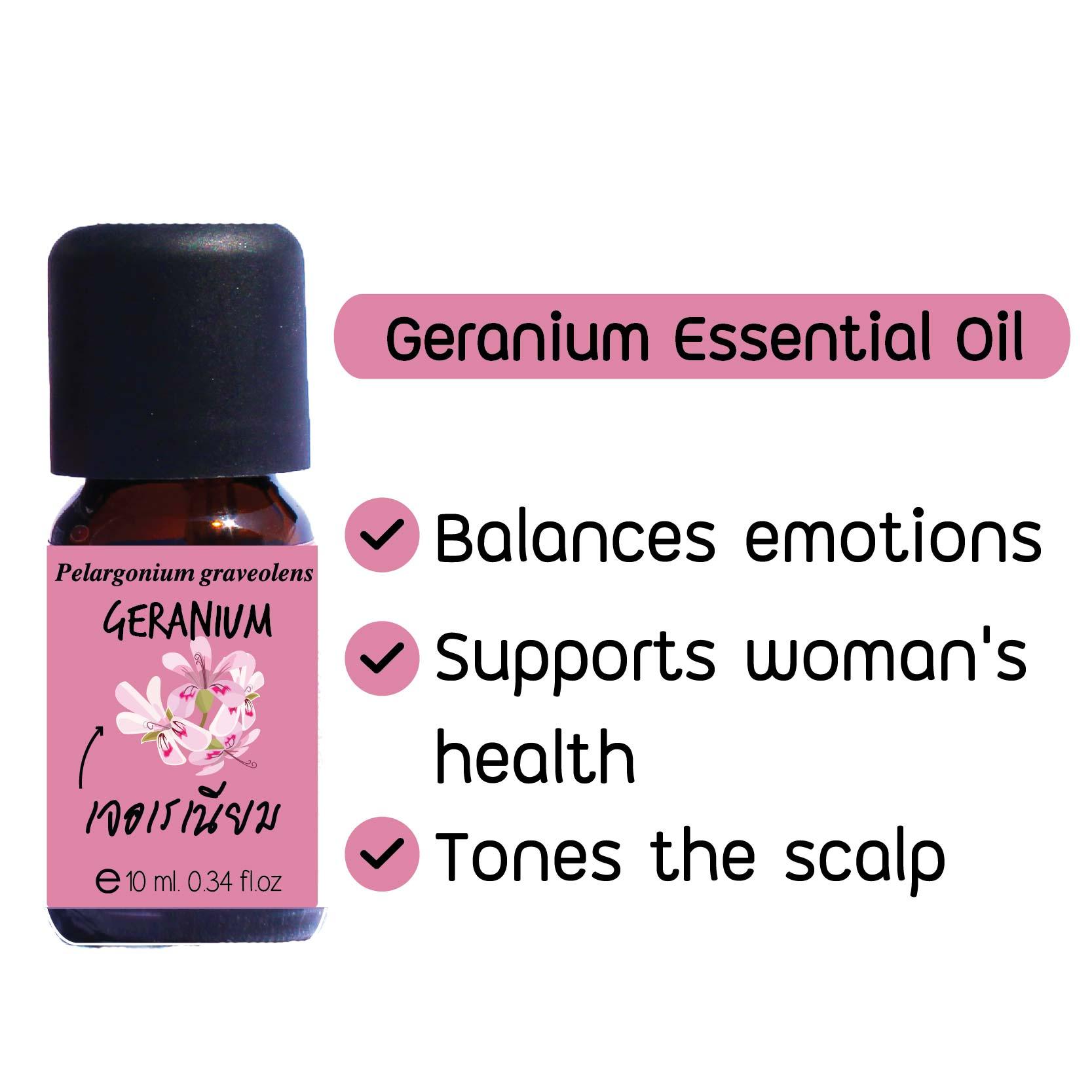 Elyrest Geranium Essential Oil