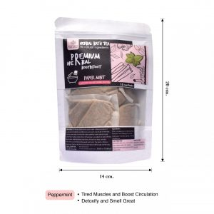 Elyrest herbal bath tea peppermint dimention -01-01
