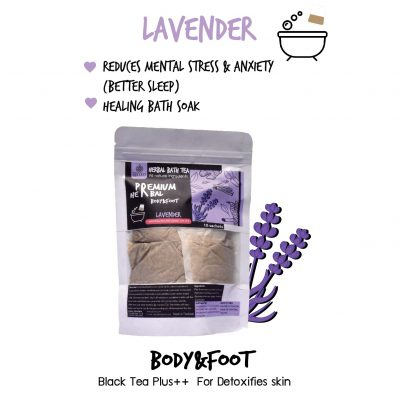 Elyrest Herbal bath tea Lavender