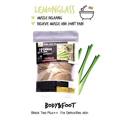 Elyrest Herbal bath tea Lemongrass