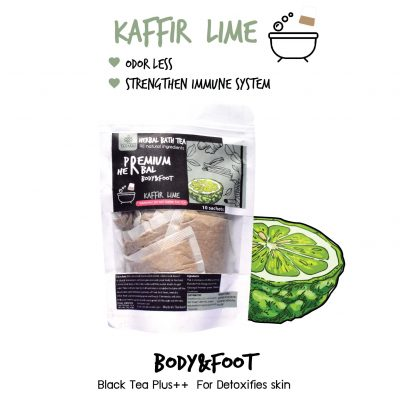 Elyrest Herbal bath tea Kaffir Lime