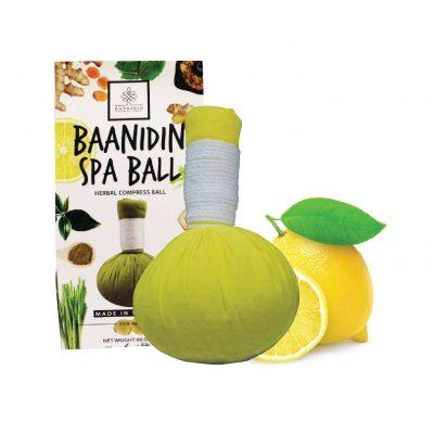 LemonHerbalcompressball-Herbalspaball-spaproducts-made-in-Thailand