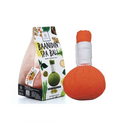 Orange-Herbal-compress-ball-Herbal-spa-ball-Spa-products-Made-in-Thailand