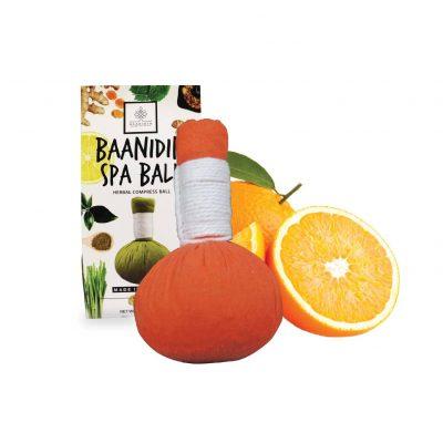 OrangeHerbalcompressball-Herbalspaball-Made-in-Thailand