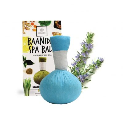 RosemaryHerbalcompressball-Herbalspaball-made-in-Thailand