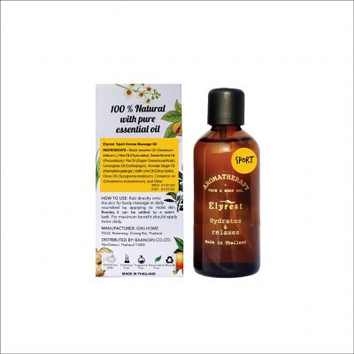 Sport-Aromatherapy-Massage-Oil-with-Herbal-Pure-Essential-Oil-By-Elyrest-Thailand