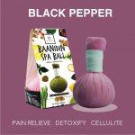 Elyrest compress ball black pepper