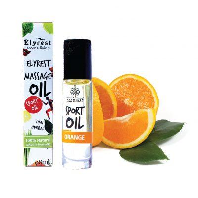 elyrest orange aromatherapy herbal pain relief massage oil