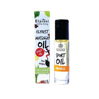 elyrest by baanidin orange aromatherapy herbal pain relief massage oil