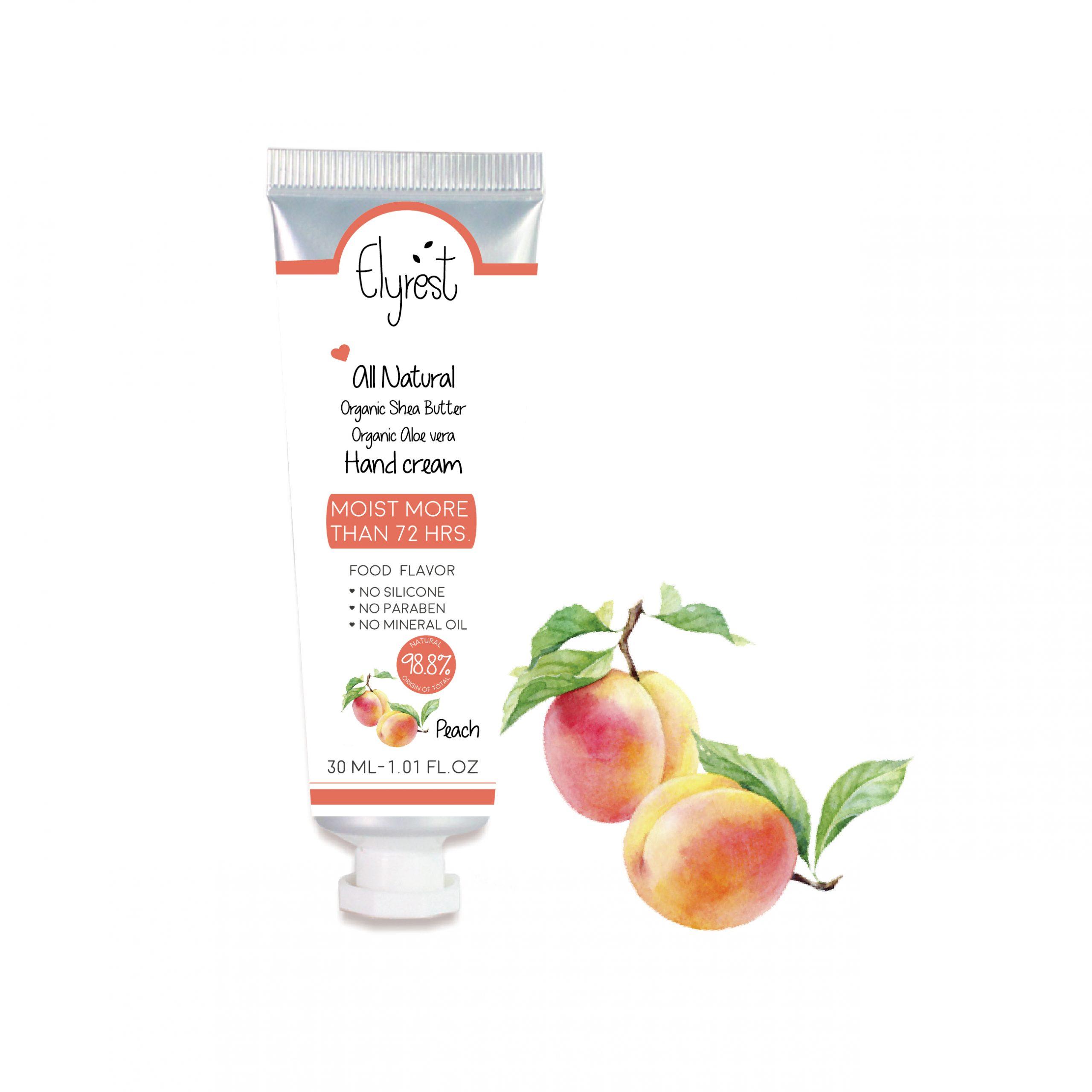 Elyrest by baanidin hand cream Peach