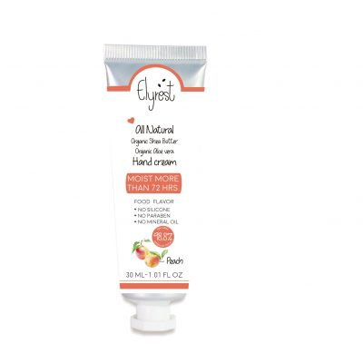 Elyrest hand cream Peach
