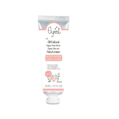 Elyrest by baanidin hand cream Rose