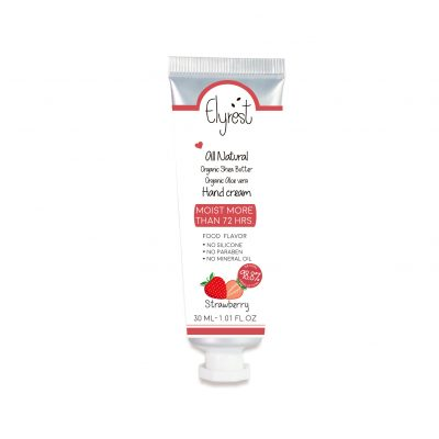 Elyrest hand cream Strawberry