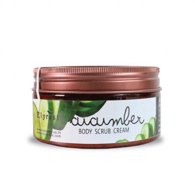 Elyrest Cucumber Body Scrub Cream
