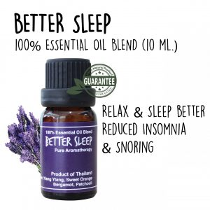 Elyrest new essential oil blend Better Sleep