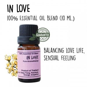 Essentiial oil blend In love