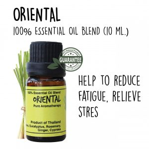 Essentiial oil blend Oriental