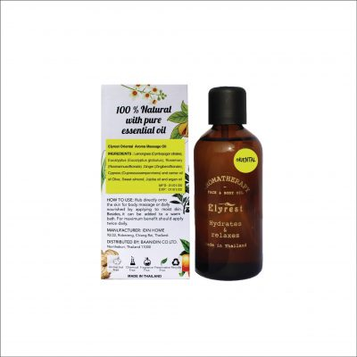 Oriental-Aromatherapy-Massage-Oil-with-Pure-Essential-Oil-By-Elyrest-Thailand.
