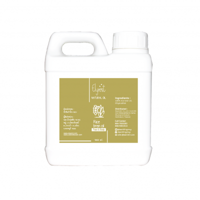 Elyrest Rice bran Oil 1000 ml.