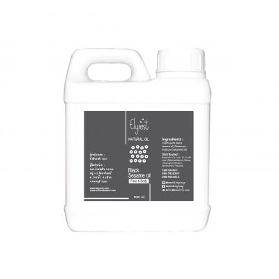 Elyrest Black Sesame Oil 1000 ml.