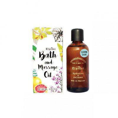 Elyrest Aroma Bath & Massage Oil clean&clear