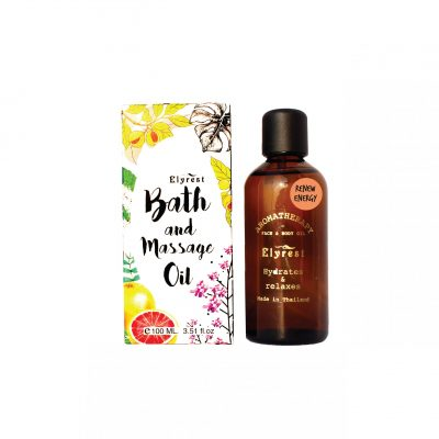 Elyrest Aroma Bath & Massage Oil renew energy