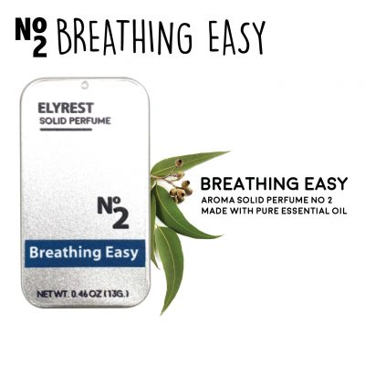 Elyrest Aroma Solid Perfume No2 Breathing Easy