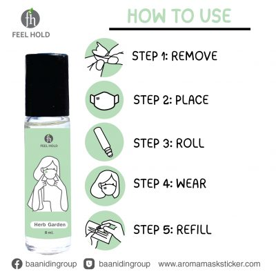 feel-hold-how-to-use-aromamaskroller-aromamasksticker-remove-place-roll-wear-refill.